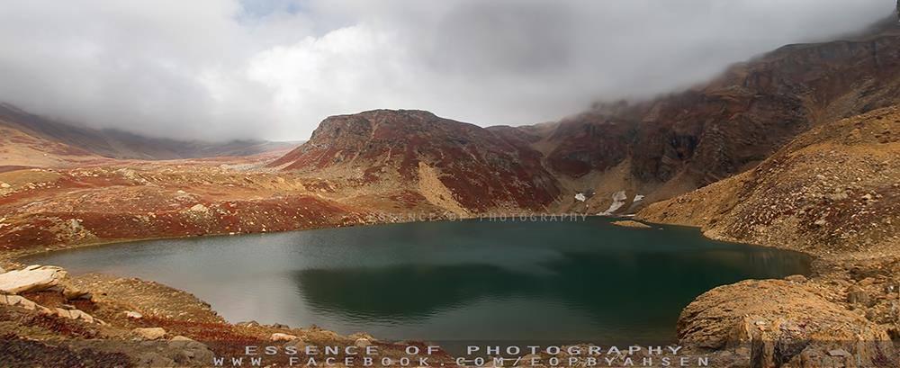 Hans Raj lake. Azad Kashmir